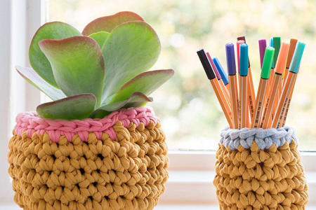 Crochet Baskets Workshop with Rachel Rogers