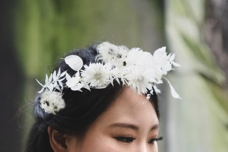 Flower Crowns Created from Dried Material