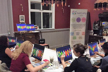 Painting and Cocktails!