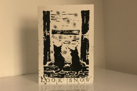 Lino Print Your Christmas Cards