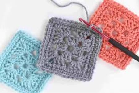 Crochet- Granny Squares Level 1