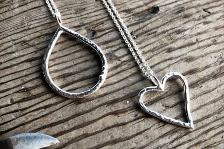 Beginners Jewellery Making - Silversmithing a pendant