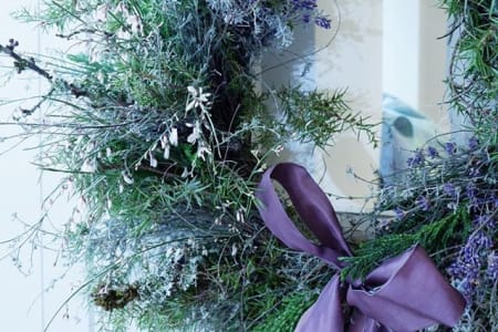 Flower Arranging - Fresh Winter Wreath Workshop