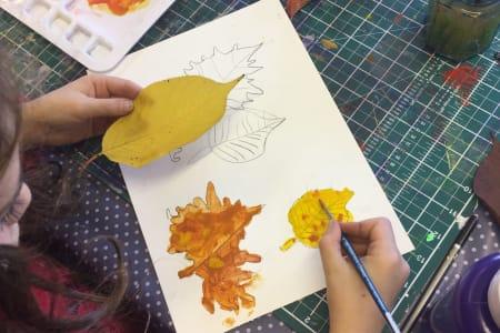Kids Acrylic Painting