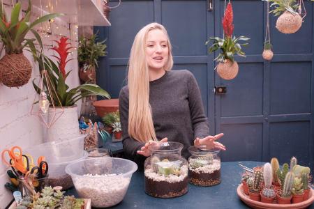Create a Succulent & Cactus Terrarium