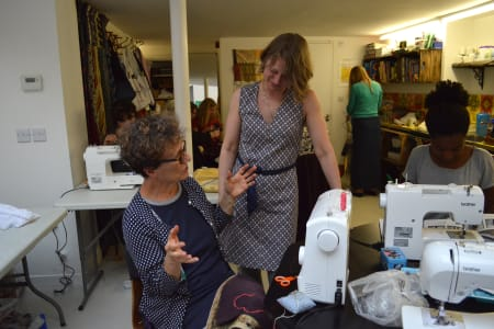 Introduction to Garment Repairs and Alterations (machine sewing) with Barley Massey : Morning