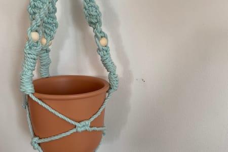 Make a Macrame Plant Hanger