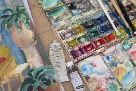 Mondays & Fridays/Weekly Art Group/Studio Time