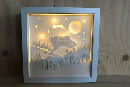 Christmas Themed Paper Cutting Workshop