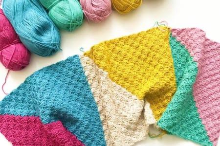 Crochet a Corner to Corner Blanket
