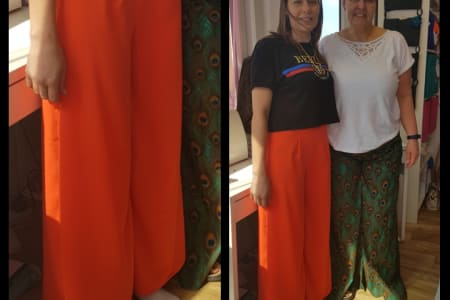 Sew stylish Wide Leg Trousers