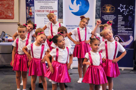 Kids Dance Class (4-6-year-olds)