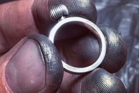 Bespoke Silver Ring Making Workshop