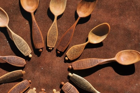 Spoon Carving with guest tutor Adam Hawker