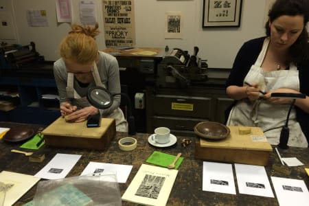 Wood Engraving (Relief Printing) Taster Day