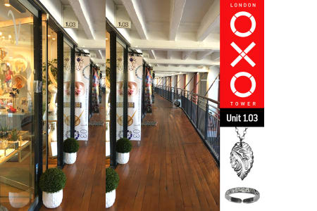Make a Piece of Silver Jewellery at the OXO Tower