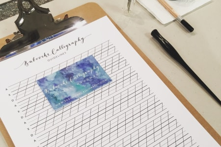 Modern Calligraphy 4-Week Course