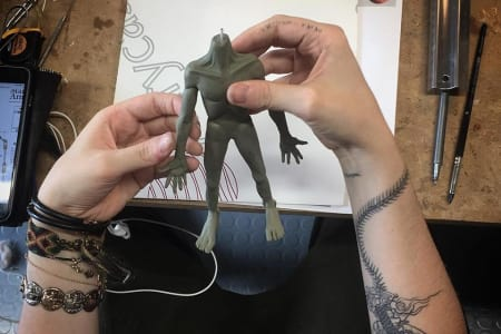 5-Day Stop-Motion Animation Advanced Silicone Puppet Building Workshop