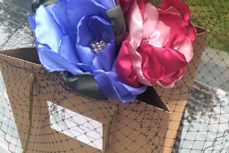 Flower Workshop - How to Make Flowers for Hats and Corsages