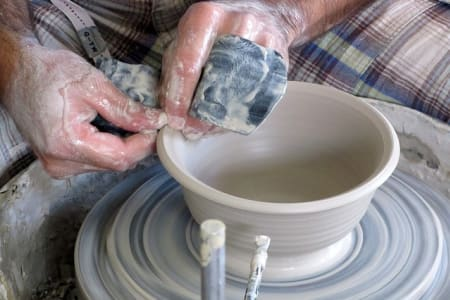 Wheel pottery (Weekday/ evening)