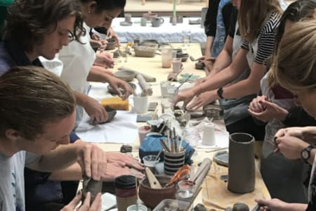 Ceramics Making for Groups
