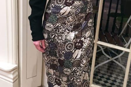 Make an 'On Trend' Wrap Skirt