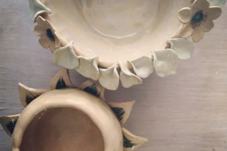 Private Handbuilding Ceramic Workshop for 2