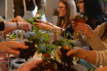 Terrarium Masterclass at Canopy Market, Kings Cross