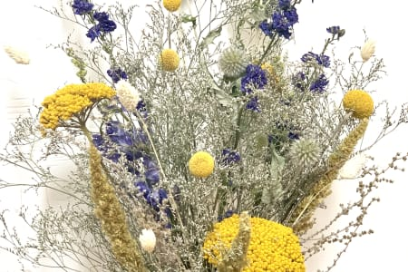 Dried Flower Workshop: Make a Bouquet Using Everlasting Blooms