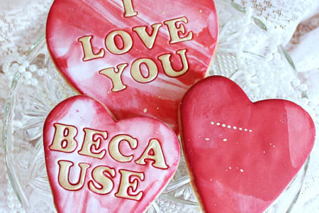 Valentine's Day Cookie and Cupcake Class