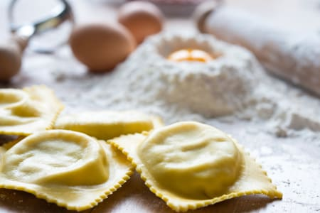 Filled Pasta Making Masterclass with a Professional Italian Chef