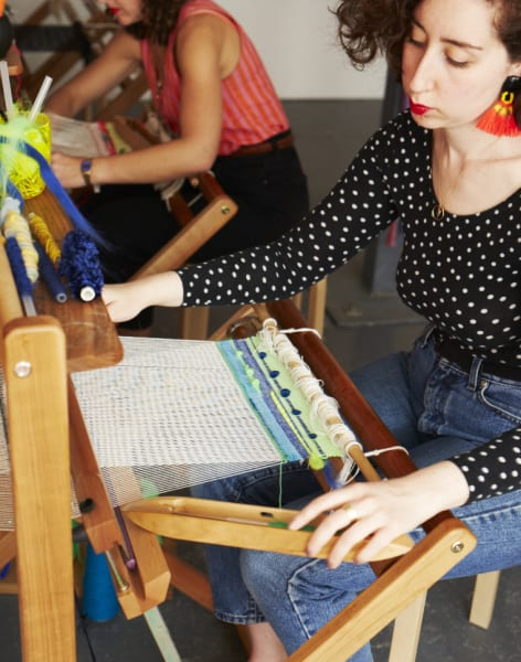 Freestyle Weaving Workshop by The London Loom - crafts in London