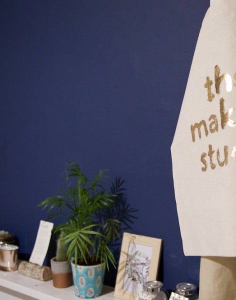 Gold Foiling - Tote Bags by The Makers Studio - crafts in London