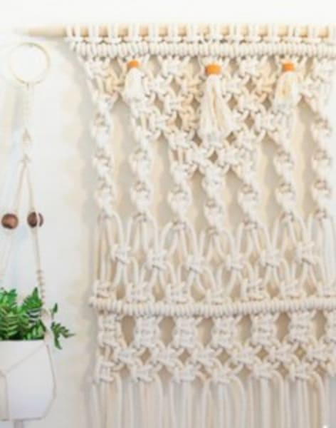 Introduction to Macramé by Tea & Crafting - crafts in London