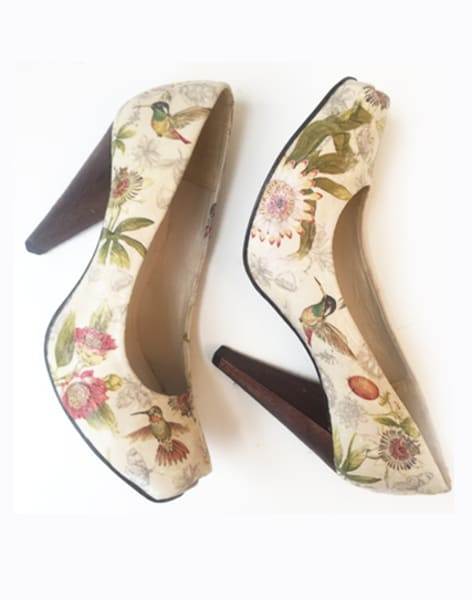 Shoe Decoupage Workshop by Gabriela Szulman Art - crafts in London