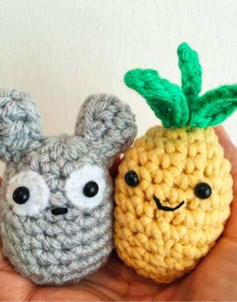 Crochet amigurumi toys by Tea & Crafting - crafts in London