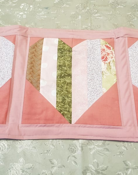 Introduction to Quilting - Table Runner by Craft My Day - crafts in London