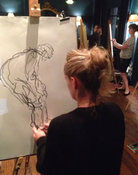 Drink and Draw - Life Drawing Class in East Dulwich by The Merry Nude - art in London