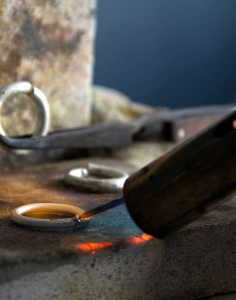Beginners Silver Ring Jewellery Workshop by Emma Aitchison Jewellery - crafts in London