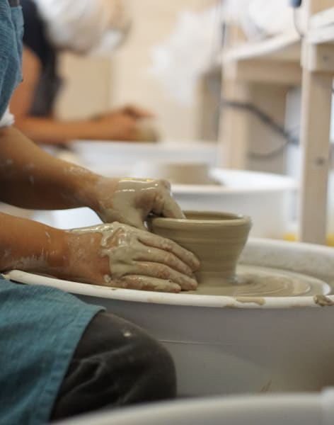 Wednesday Evening - Pottery Course on the Wheel by Clover & Emilia Pottery - art in London