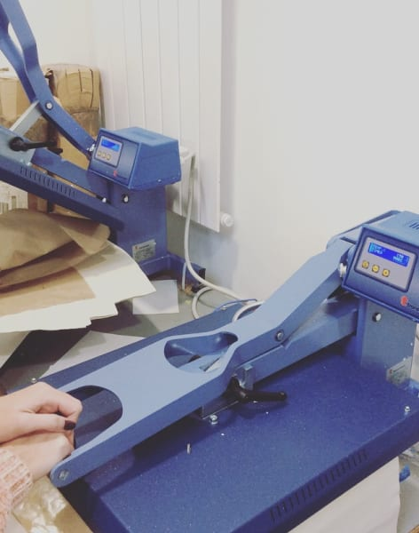 Metallic Printing Workshop by Nicole Line Workshops - art in London