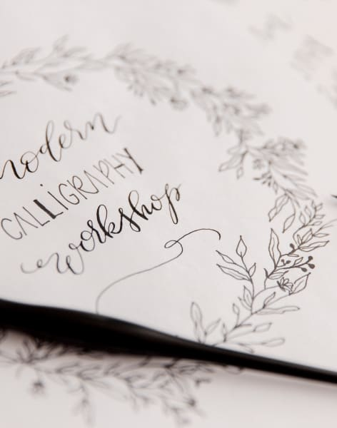 Modern Calligraphy Workshop for Beginners by Amalia Calligraphy - art in London