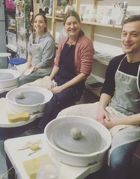 Thursday Evenings - Pottery Course on the Wheel by Clover & Emilia Pottery - art in London