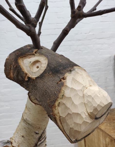 Build a wooden reindeer, horse or let your imagination run wild by Creative nature HQ - crafts in London