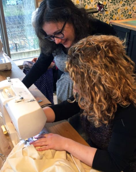 Guided Studio Time with Charlotte Newland, winner of The Great British Sewing Bee by The Village Haberdashery - crafts in London