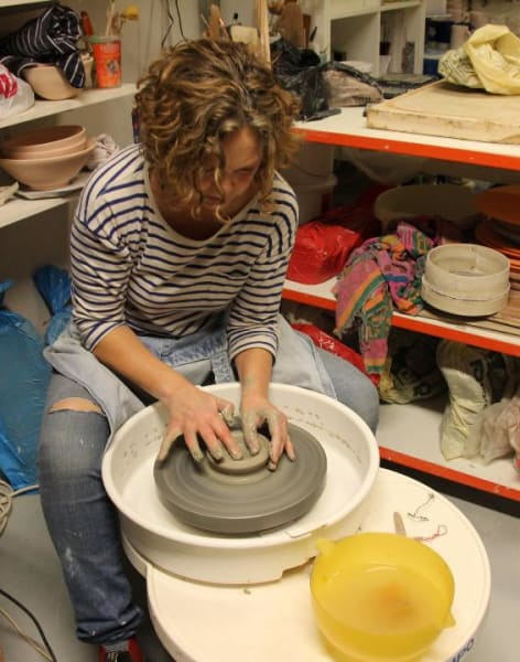 Beginners Pottery Wheel Throwing Course by Kerry Hastings Ceramics - art in London