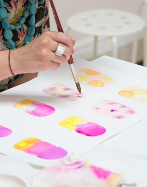 Beginner's Watercolour Painting Workshop by Tea & Crafting - art in London