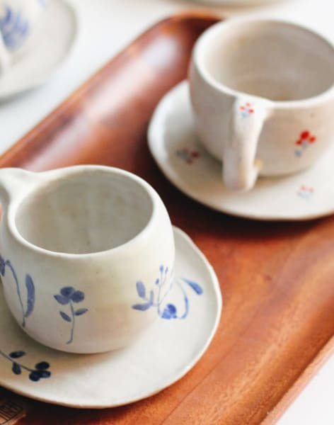Handmade ceramic taster workshop by CozyPots Creative Studio - art in London