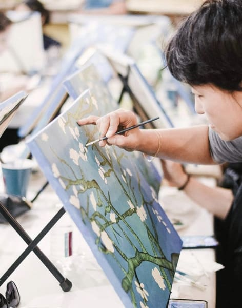 Van Gogh Inspired Painting Workshop  by Liberté Concept - art in London