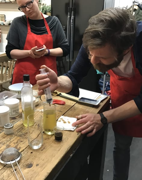 Molecular Gastronomy: cooking techniques by Pencil & Fork - food in London
